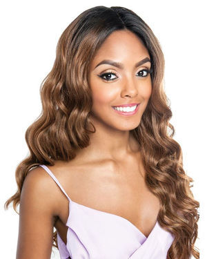 BSF03 Lace Front Human Hair Blend Wig by Brown Sugar