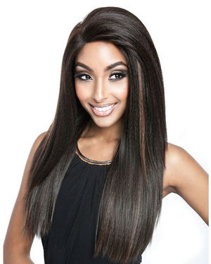 BSF05 Lace Front Human Hair Blend Wig by Brown Sugar