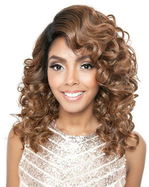 BSF07 Lace Front Human Hair Blend Wig by Brown Sugar