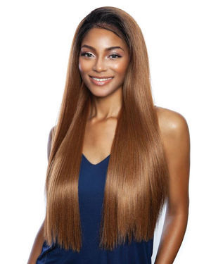 Glacier Lace Front Human Hair Blend Wig by Brown Sugar