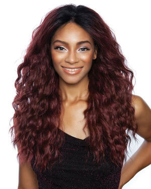 Acadia Lace Front Human Hair Blend Wig by Brown Sugar