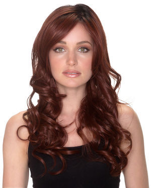 Pure Honey Lace Front & Monofilament Synthetic Wig by Belle Tress