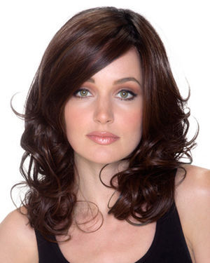 Americana Lace Front & Monofilament Synthetic Wig by Belle Tress