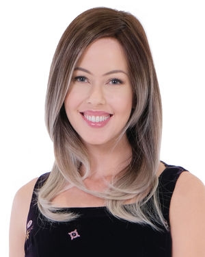 Sugar Rush Balayage Lace Front & Monofilament Synthetic Wig by Belle Tress