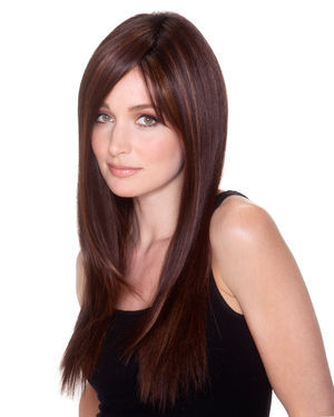 Straight Press 23 Lace Front & Monofilament Synthetic Wig by Belle Tress