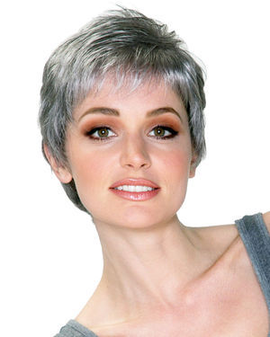 Feather Lite Mono Part Synthetic Wig by Belle Tress