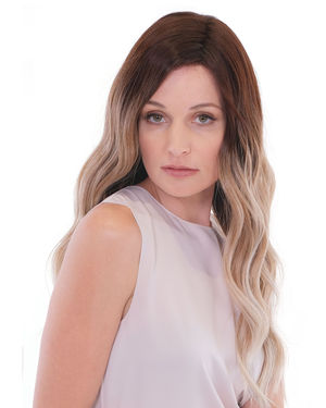 Maxwella 22 Balayage Lace Front & Monofilament Synthetic Wig by Belle Tress