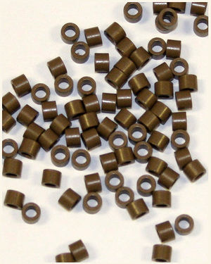 Fusion Hair Extension Ring M (Brown / 950 pieces)