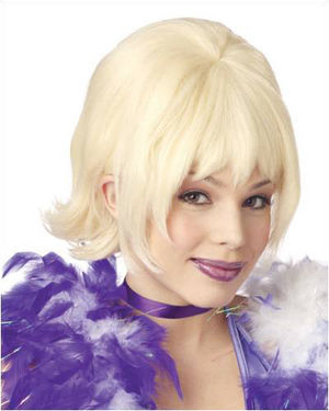 Pixie Blonde Costume Wig by California Costumes