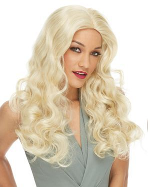 Deluxe Show Girl Costume Wig by Characters