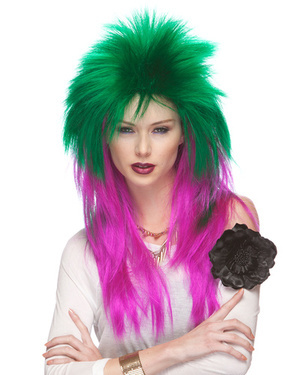 Extra Long Rocker Costume Wig by Characters