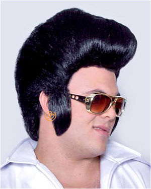 Pompadour Costume Wig by Characters
