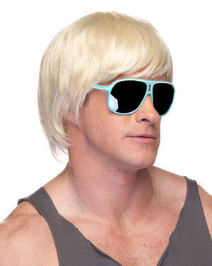 Surfer Dude Costume Wig by Characters