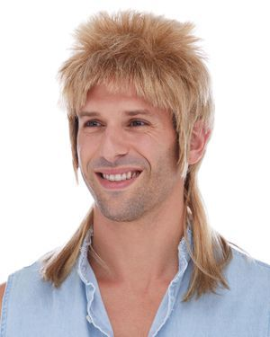 Mullet Costume Wig by Characters