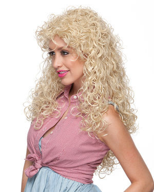 Texas Curl Costume Wig by Characters