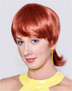 50s Laverne Costume Wig by Characters