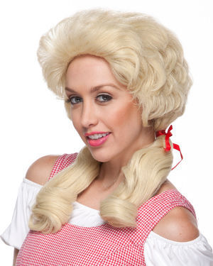 Farmers Daughter Costume Wig by Characters