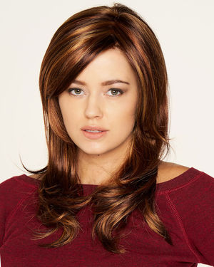 Carolina (Exclusive) Lace Front & Monofilament Synthetic Wig by Dream USA