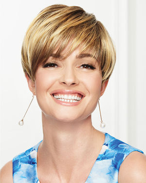 So Stylish Monofilament Crown Synthetic Wig by Gabor