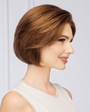 Sheer Style Large Lace Front & Monofilament Synthetic Wig by Gabor