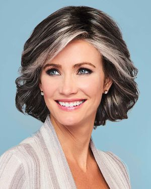 Modern Motif Lace Front & Monofilament Part Synthetic Wig by Gabor