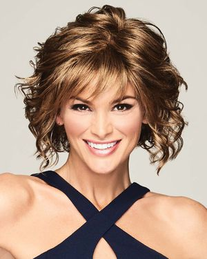 Fresh Chic Lace Front & Monofilament Part Synthetic Wig by Gabor