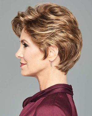 Stylish Flair Lace Front & Monofilament Part Synthetic Wig by Gabor