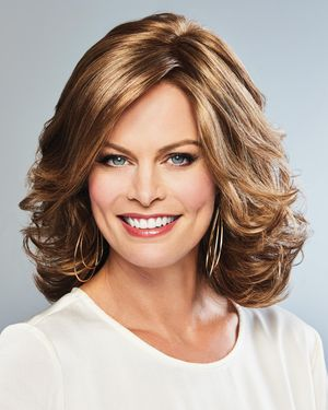 Bouncy Beauty Lace Front & Monofilament Part Synthetic Wig by Gabor