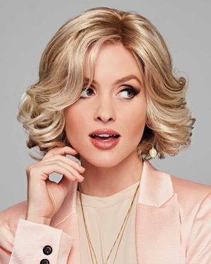 Twirl & Curl Lace Front & Monofilament Part Synthetic Wig by Gabor