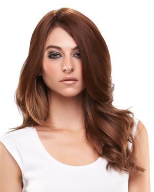 Easipart HD 12 inch Monofilament Clip-in Crown Volumizer Toppers by EasiHair