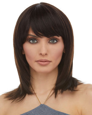 H HPF700L Human Hair Clip-in Bang by Sepia