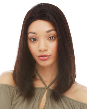 HL Brianna Lace Front Remy Human Hair Wig by Elegante