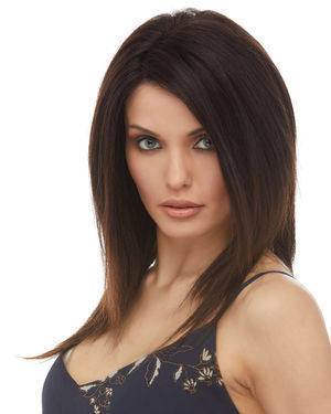 HL Indy Lace Front Remy Human Hair Wig by Elegante