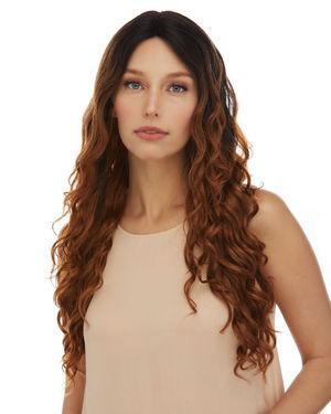 HL Esmeralda Lace Front & Lace Part Remy Human Hair Wig by Elegante