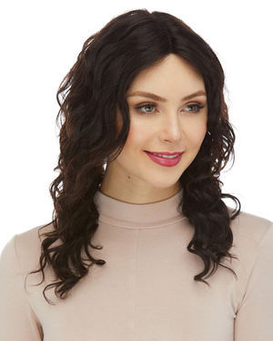 HL Francesca Lace Front & Lace Part Remy Human Hair Wig by Elegante