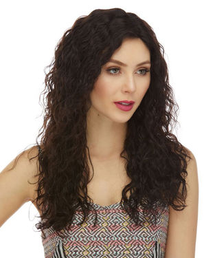 HL Tatiana Lace Front & Lace Part Remy Human Hair Wig by Elegante