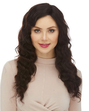 HL Vanessa Lace Front & Lace Part Remy Human Hair Wig by Elegante