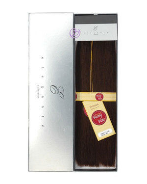 Premium Remy Human Hair Silky Weaving (12 inch) by Elegante