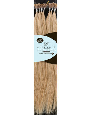 Fusion Remy Human Hair Straight Extension (12 inch) by Elegante