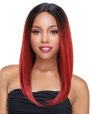 Elena Lace Front Human Hair Blend Wig by Sensual