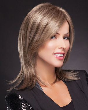 Smooth Shoulder Shag Lace Front & Monofilament Synthetic Wig by TressAllure