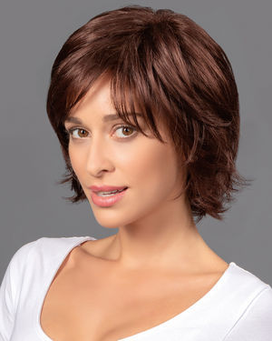 Wavy Mid Layered Shag Lace Front & Monofilament Synthetic Wig by TressAllure