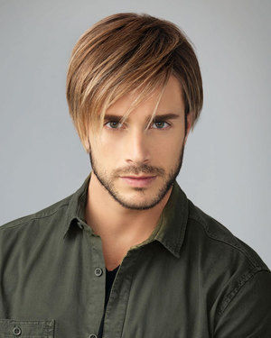 Chiseled Average/Large Men's Lace Front & Monofilament Synthetic Wig by HIM