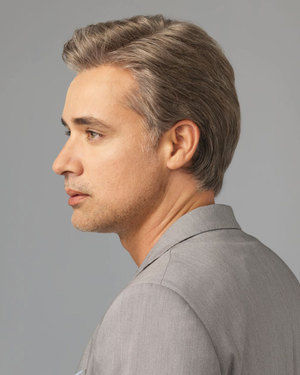 Sophistication Average/Large Men's Lace Front & Monofilament Synthetic Wig by HIM