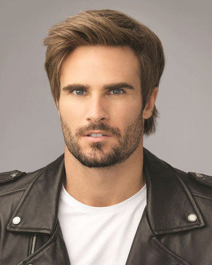 Edge Average/Large Men's Lace Front & Monofilament Synthetic Wig by HIM