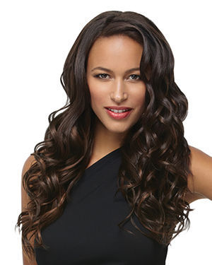 18 inch Wavy Synthetic Clip-in Extension 8pc Kit by Hair Do