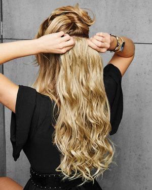22 inch Curly Extension Synthetic Hair Extensions