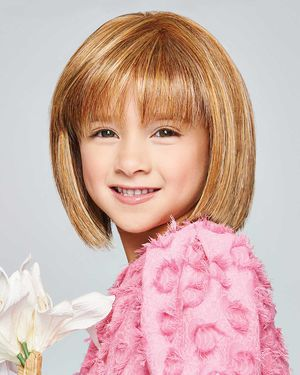 Pretty In Page Ultra Petite Kids Monofilament Crown Synthetic Wig by Hair Do