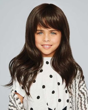 Pretty In Layers Ultra Petite Kids Monofilament Top Synthetic Wig by Hair Do