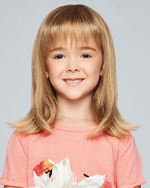 Pretty In Fabulous Ultra Petite Kids Monofilament Crown Synthetic Wig by Hair Do
